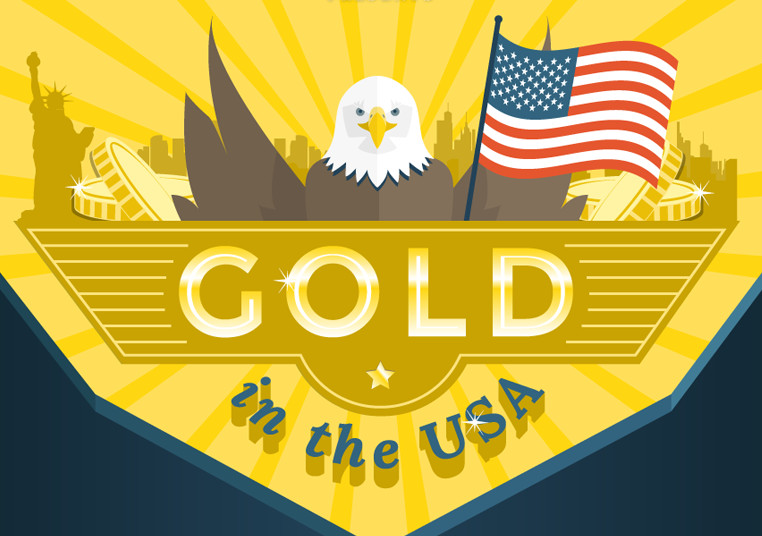 Gold in the USA